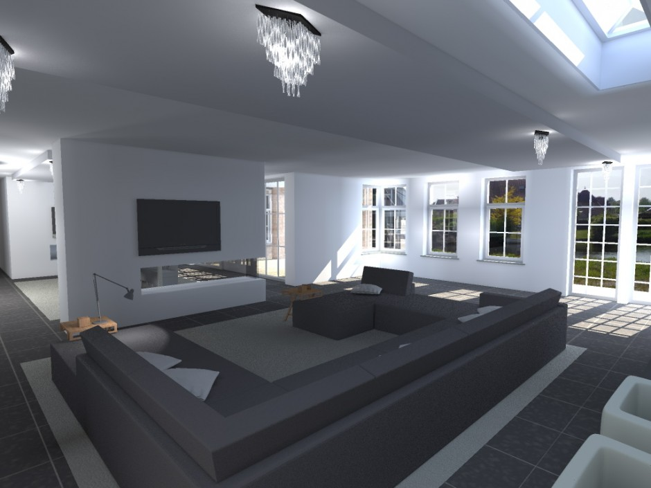 interieur woonkamer klassiek ~ home design ideeën en meubilair, Deco ideeën