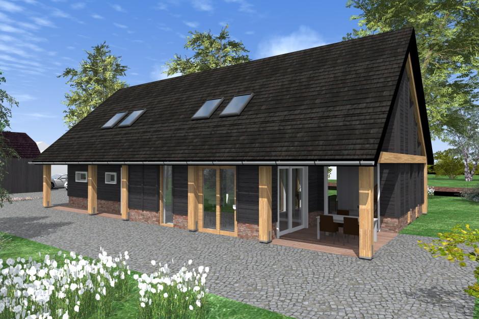 Schuurwoning halfweg next ontwerp schuurwoningnext for Vakantiehuis bouwen